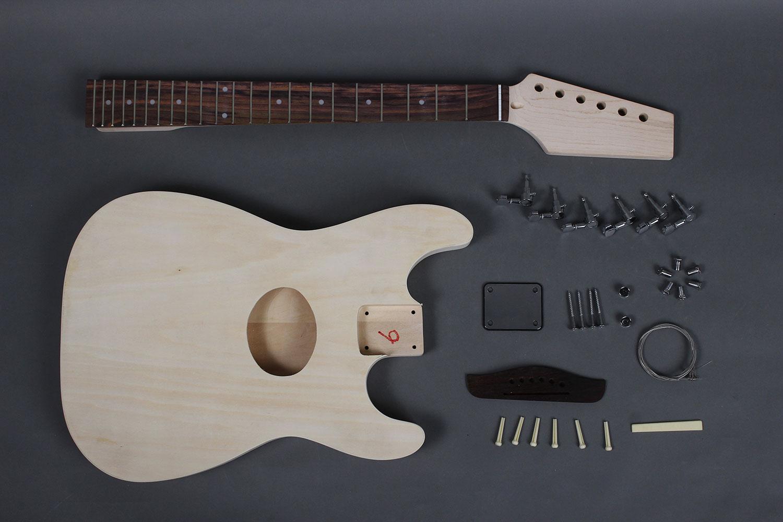 special acoustic guitar diy kit bolt on construction gk sea 09 byguitar. Black Bedroom Furniture Sets. Home Design Ideas