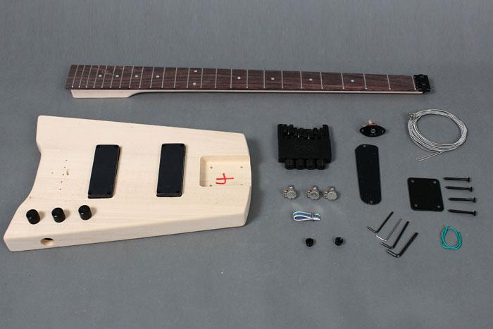 guitar kits headless guitar kits. Black Bedroom Furniture Sets. Home Design Ideas